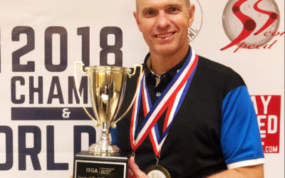 The 'Flying Finn' crowned new World Speedgolf Champion