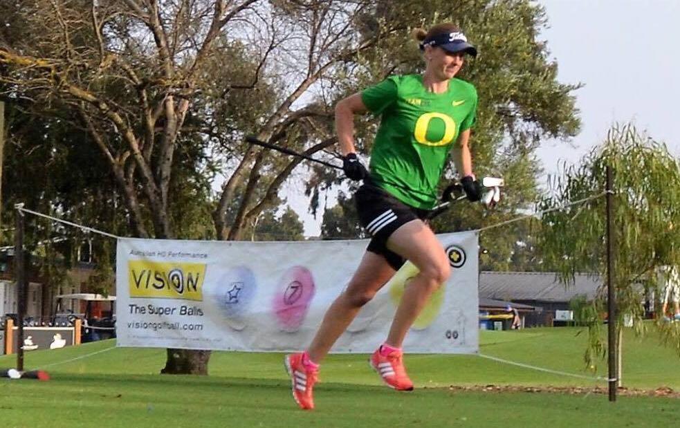 Australian Speedgolf Open – Virginia Deigan