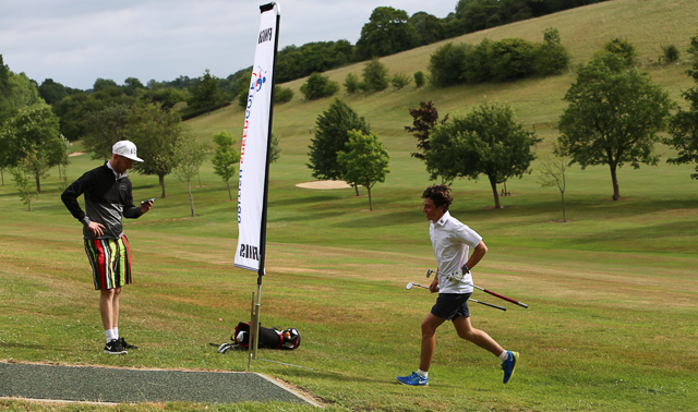 Impressive Speedgolf  scores at West Kent Speedgolf Open